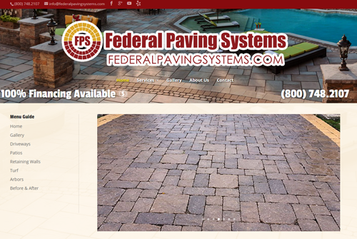 Federal Paving Systems Web Development