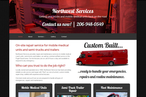 Northwest Services Web Design & Development