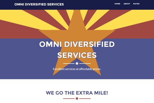 Omni Diversified Services Web Design in Oregon